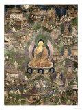 Thangka of the Buddha