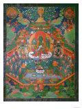 Thangka Depicting Green Tara