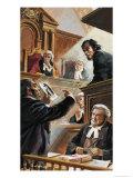 Scene in Court