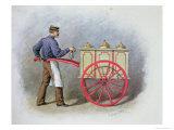 The Ice Cream Seller  1895