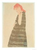 Woman in a Golden Cape  1908