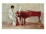 At the Piano  1887