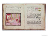 Sloane the Five Rabbis of Bne Brak Who Discussed the Passover All Night  Leipnik Haggadah  1740