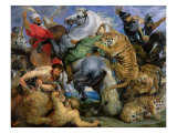 The Tiger Hunt  c1616