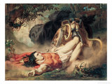 The Death of Hippolyte  1860