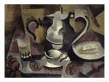Still Life with Three Handles