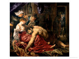 Samson and Delilah  c1609
