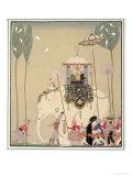 Imperial Procession Giclée par Georges Barbier