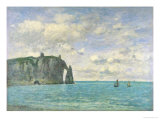 The Cliffs at Etretat  1890