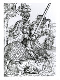 St George on Horseback  1507