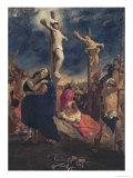 Christ on the Cross  1835