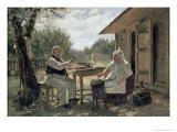 Making Jam  1876