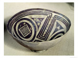 Bowl Decorated with a Geometric Pattern  Style I  from Susa  Iran  3100-3000 BC