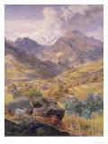 The Val D'Aosta  1858