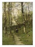 In the Barbizon Woods in 1875