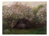 Lilacs  Grey Weather  c1872-73