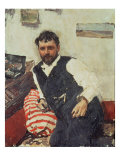 Portrait of Konstantin Korovin