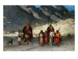 In the Mountains  1870s