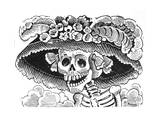 La Calavera de La Catrina  1913