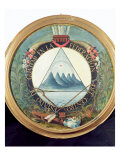 Badge of the Federation of Guatemala  15th September 1821