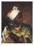 Young Negro with a Bow  c1697