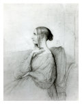Portrait of Marie D&#39;Agoult