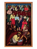 Jesus Washing the Disciples' Feet  2000
