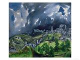 View of Toledo  c1597-99