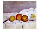Fruit on a Cloth  c1890
