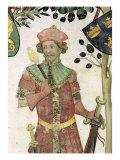 The Nine Worthies and the Nine Worthy Women  Detail of Judas Maccabeus  1418-30