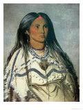 Mint  a Mandan Indian Girl  1832