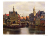View of Delft c1660-61