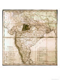 Map of India  1803