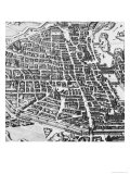 Map of Paris  1620