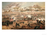 The Union Attack on Marye's Heights During the Battle of Fredericksburg  13th December 1862