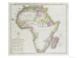 Map of Africa  1821