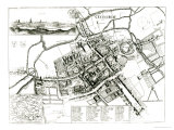 Map of Oxford  1643