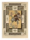 Birds  Plate 35  Fantaisies Decoratives  Librairie de l'Art  Paris  1887