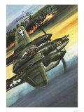 Famous Aircraft and Their Pilots: Lockheed Lightning - Major Richard I Bong