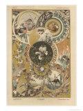 Circles  Plate 27  Fantaisies Decoratives  Librairie de l'Art  Paris  1887
