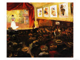 The Cafe-Concert  c1904