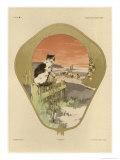 Fan  Plate 16  Fantaisies Decoratives  Librairie de l'Art  Paris  887