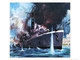 HMS Amethyst Runs the Gauntlet
