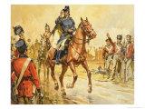 Duke of Wellington Rallying His Troops