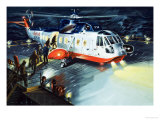 British Airways Rescue Helicopter