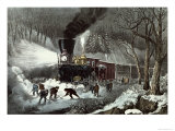 American Railroad Scene  1871