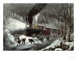 American Railroad Scene  1871