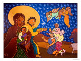 The Holy Family at Nativity  2007