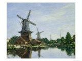 Dutch Windmills  1884