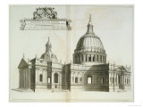 St Paul's Cathedral  c1700